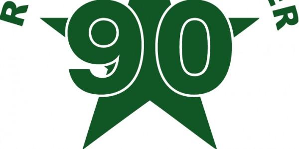 Logo Groene Ster 90 jaar