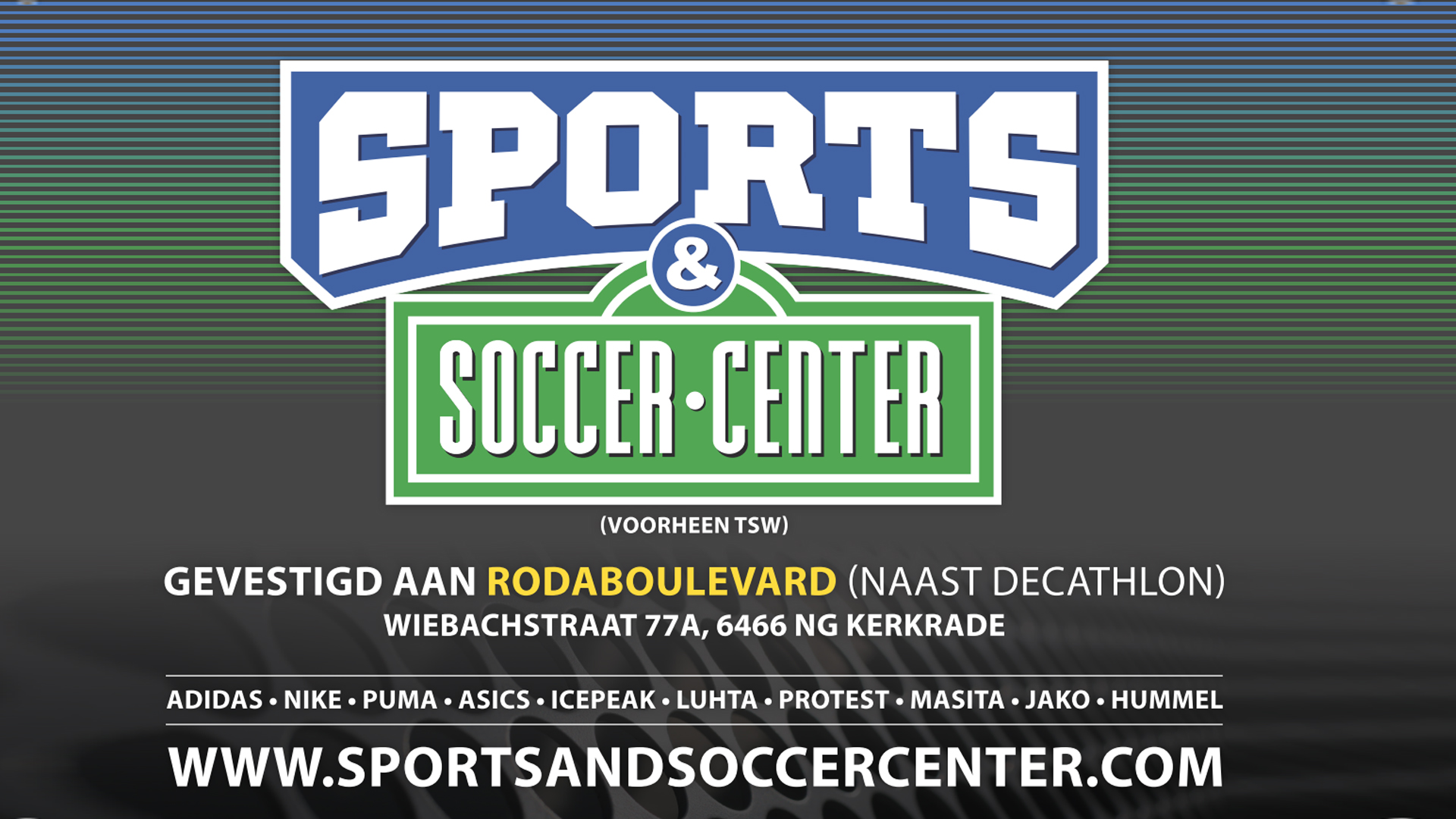 Sports soccer center